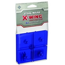 Star Wars X-Wing Bases Blau