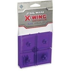 Star Wars X-Wing Bases purple