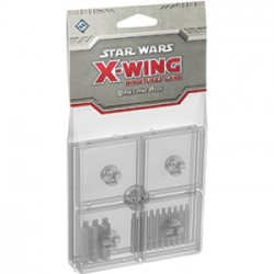 Star Wars X-Wing Bases Clear