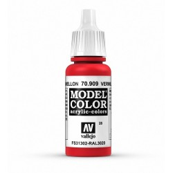 Vallejo Model Color Vermillion 909