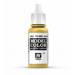 Vallejo Model Color Gold 996