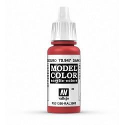 Vallejo Model Color Dark Vermillon 947