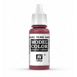 Vallejo Model Color Dark Red