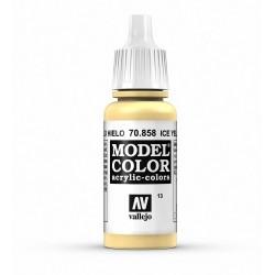 Vallejo Model Color Ice Yellow Eisgelb
