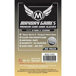 MDG 7143 Premium Magnum Platinum Sleeve 61 x 112 mm (50)