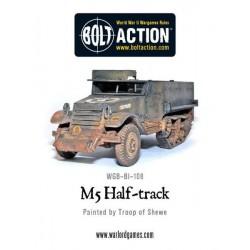 Bolt Action M5 Half track