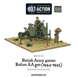 Bolt Action British QF 40mm Bofors AA gun Mk III (1942-1945)