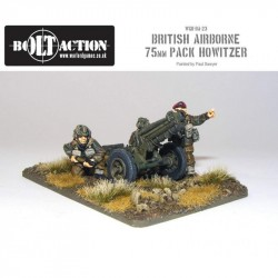Bolt Action British Para 75mm Pack Howitzer & Crew