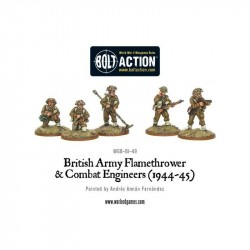 Bolt Action British Flamethrower & Combat Engineers