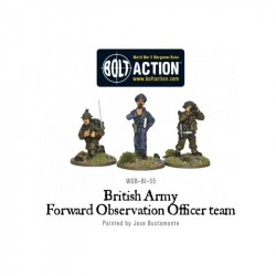 Bolt Action British Army FOO team