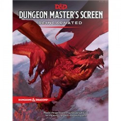 Dungeons and Dragons D&D Master Screen Reincarnated