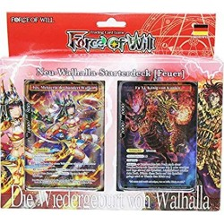 Force of Will Wallhalla Starterdeck Feuer