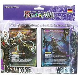 Force of Will Wallhalla Starterdeck Finsternis