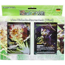 Force of Will Wallhalla Starterdeck Wind