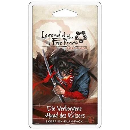 L5R: LCG - Die Verborgene Hand des Kaisers • Skorpion-Klan-Pack DE