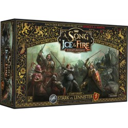 A Song of Ice and Fire Miniaturenspiel  Stark vs. Lennister Starterset DE
