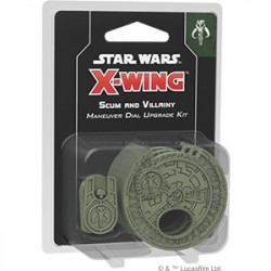 Star Wars X-Wing Scum Maneuver Dial Upgrade Kit SWX51
