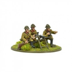 BA Belgian Army MMG Team