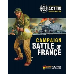 BA Battle of France Campaign Book + Cpt Pierre Bilotte Promo Figur