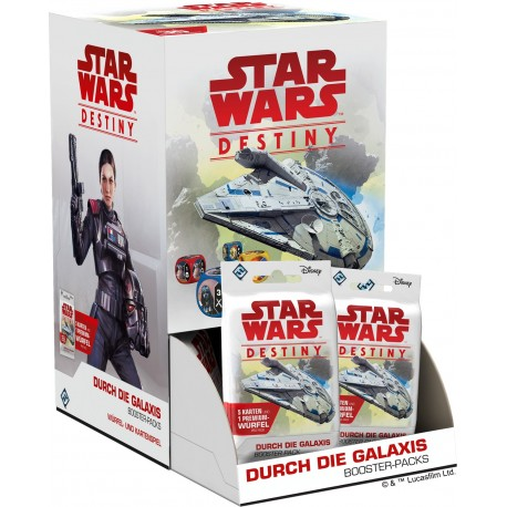 Star Wars Destiny Durch die Galaxis Booster (36er-Display) DE