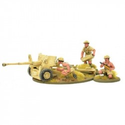 Bolt Action 8th Army 6 pounder Anti Tank Gun