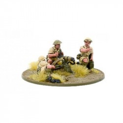 Bolt Action 8th Army MMG Team
