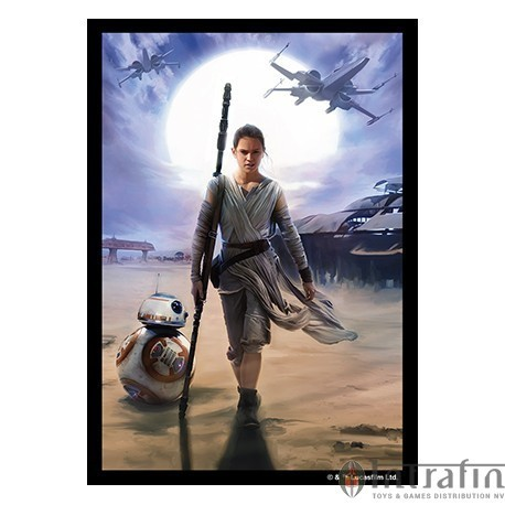 Sleeves Star Wars Art Sleeves Rey (50)