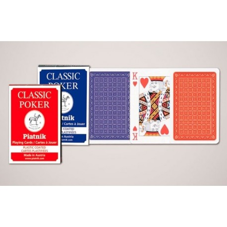 Classic Poker Cards 132117