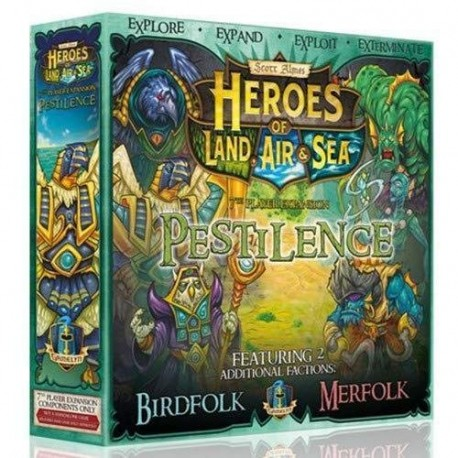 Heroes of Land Air and Sea 7th Player EXP Pestilence