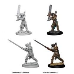 Female Human Barbarian Pathfinder Deep Cuts Unpainted Minis