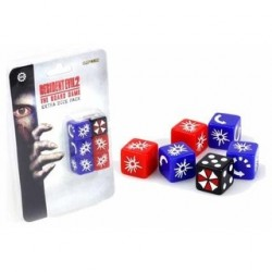 Resident Evil the Board Game Extra Dice Pack