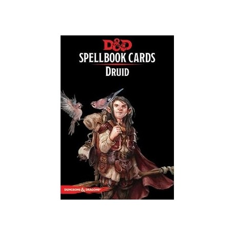 Dungeons & Dragons Spellbook Druid Deck