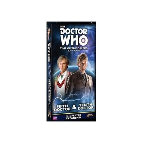 Doctor Who Time of the Daleks 5th & 10th Doctors Expansion EN