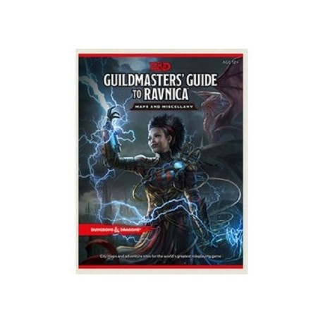 D&D RPG Guildmasters Guide to Ravnica RPG Maps and Miscellany