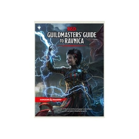 Dungeons & Dragons Guildmasters Guide to Ravnica RPG Book