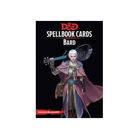 Dungeons & Dragons Spellbook Bard Deck Cards