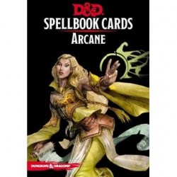 Dungeons & Dragons Arcane Spell Deck Cards