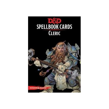 Dungeons & Dragons Cleric Spellbook Cards
