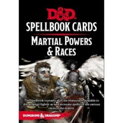 Dungeons & Dragons Spellbook Cards Martial Powers & Races Deck
