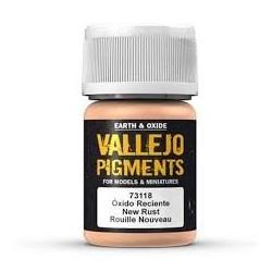 Vallejo Pigment Fresh Rust 30ml VA73118