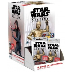 Star Wars Destiny Funken der Hoffnung Booster Pack Display