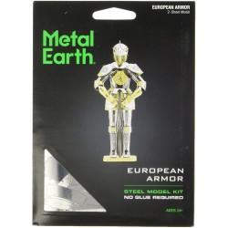 Metal Earth Armor European Knight