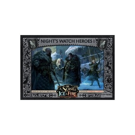 A Song Of Ice And Fire Night's Watch Heroes Box 1 EN