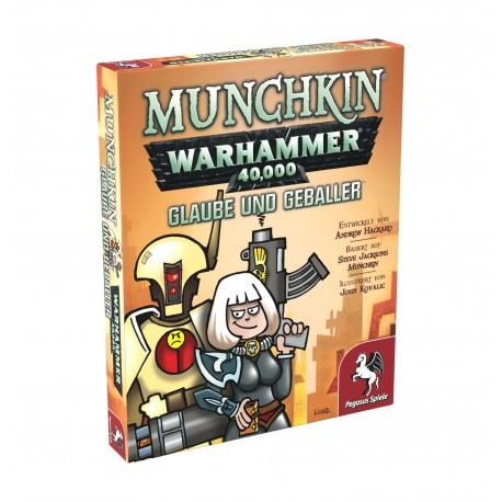 Munchkin Warhammer 40.000 Glaube und Geballer Erweiterung