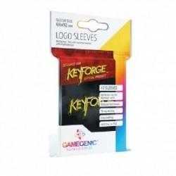 KeyForge Logo Sleeves Black