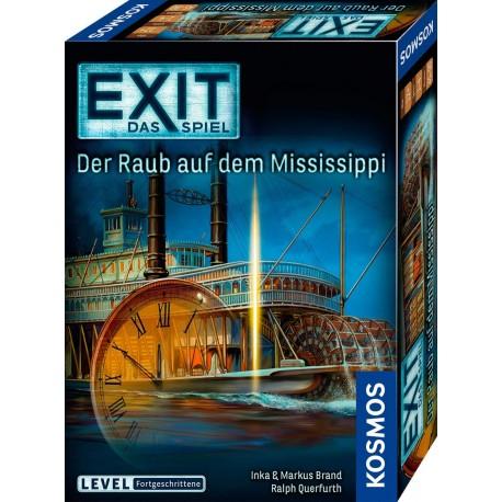 EXIT Das Spiel Der Raub auf dem Mississippi
