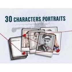 Detective 30 Character Portraits DE