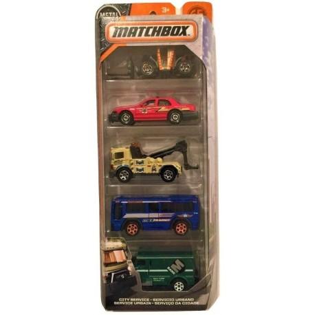 MATCHBOX 5er Geschenk Set sortiert