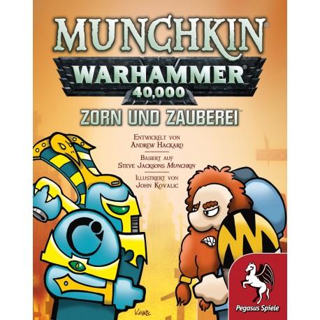 Munchkin Warhammer 40.000 Zorn und Zauberei Erweiterung