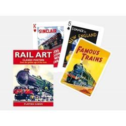 Spielkarten Rail Art
